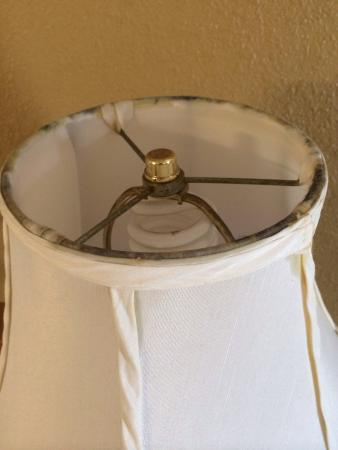 Days Inn Hattiesburg MS: This is a photo of the lampshade at the days inn in Hattiesburg Mississippi.