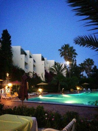 smartline Hammamet Regency: Lovely view at night