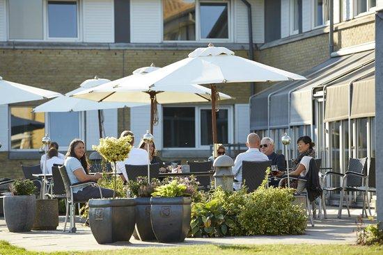 BEST WESTERN Hotel Fredericia: Terrace
