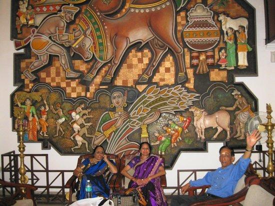 HOTEL NORTHGATE, MADURAI-RECEPTION AREA