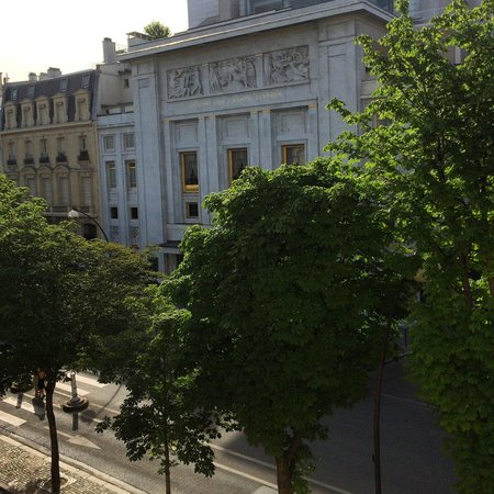 Hotel Montaigne: Room view
