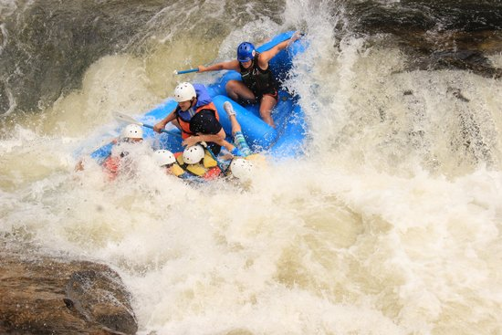Wildwater Rafting - Chattooga: Bull Sluice on Friday the 13th with a full moon