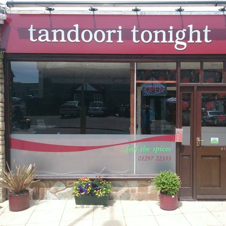 Tandoori Tonight: restaurant entrance