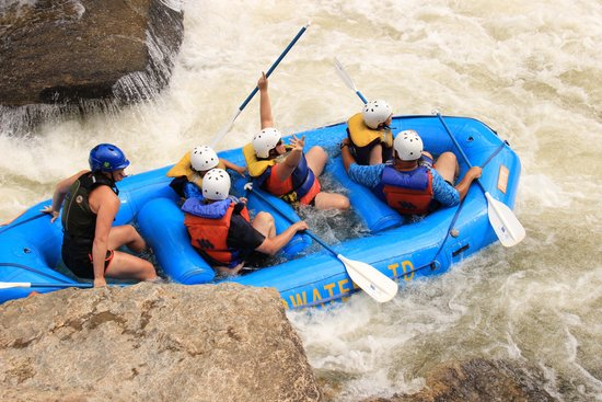 Wildwater Rafting: Bull Sluice Friday the 13th full moon 2 of 2
