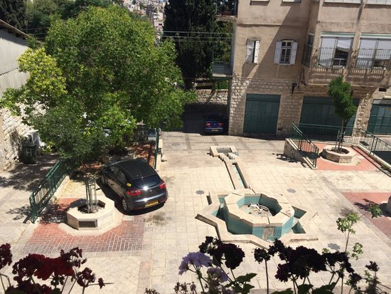 Al-Mutran Guest House: La vue depuis le balcon