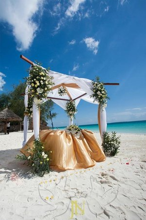 Hideaway of Nungwi Resort & Spa: Alter for the union