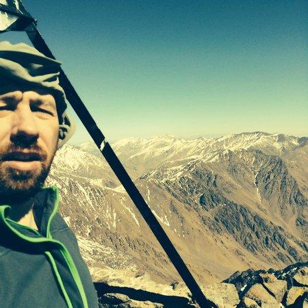 Mount Toubkal : summit selfie