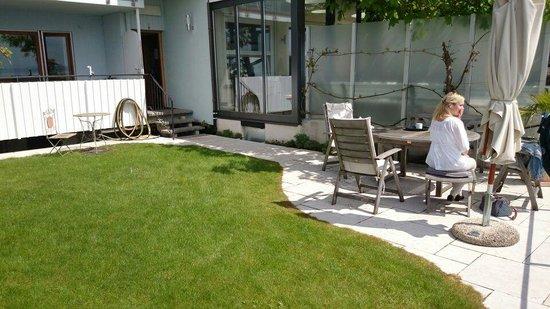 Hotel Zur Winzerstube: Garten