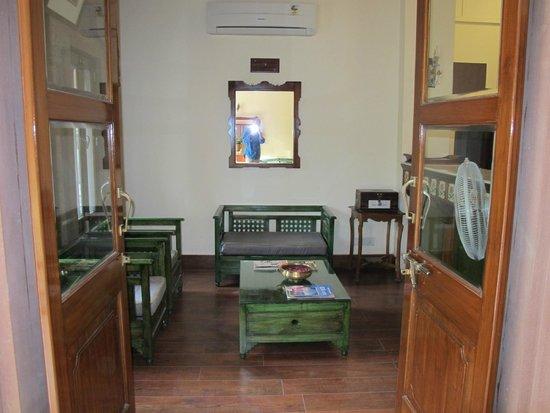 Hotel Ratan Vilas: Recepcion