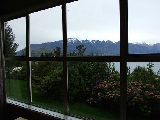 Mercure Resort Queenstown: View from our hotel room.