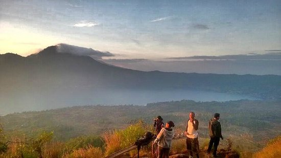 Tegal Sari: The view at the top of Mt Batur
