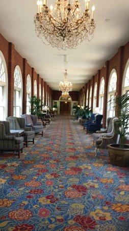 Washington Marriott Wardman Park Hotel: viel Teppich
