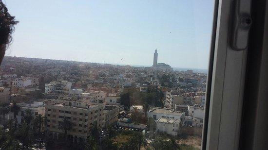 Ibis Casablanca City Center: Vistas desde la última planta