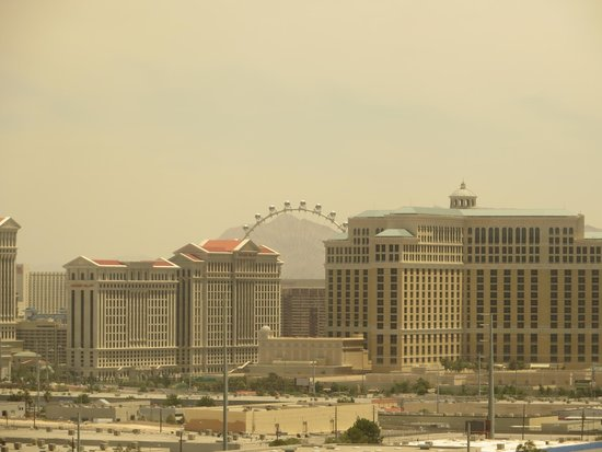 The Orleans Hotel & Casino: View from our room