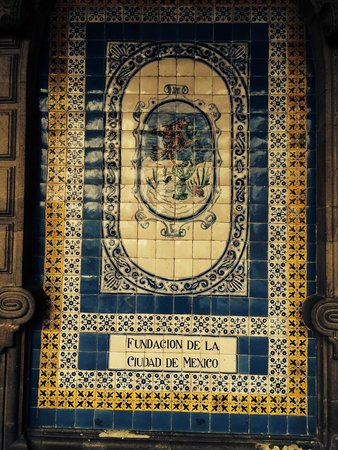 Murales de azulejos foto di zocalo citt del messico tripadvisor - Murales de azulejos ...