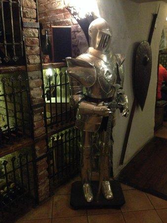 Camelot - medieval restaurant : Armor in Camelot