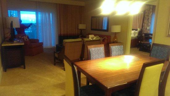 Marriott's Oceana Palms: Living, dining area