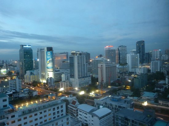 AETAS bangkok : Vue de la chambre