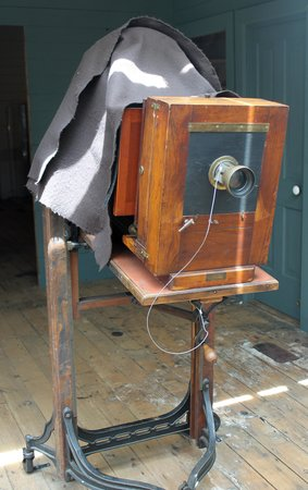 H.H. Bennett Studio: Original camera