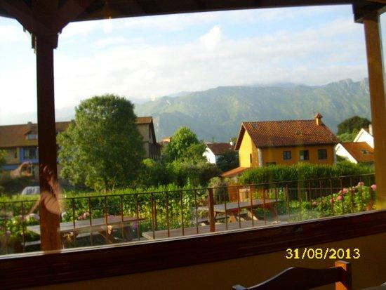 Pancar, Spanien: Vista desde el comedor