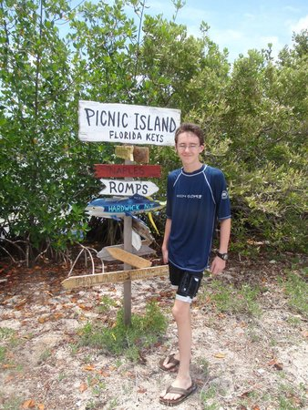 Florida Keys Jet Ski Rentals: Made it to Picnic Island