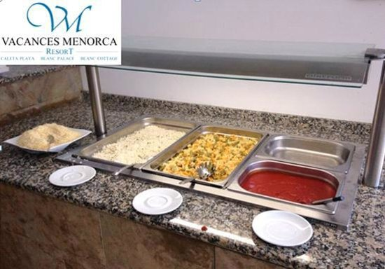 Vacances Menorca Resort: Bambini buffet