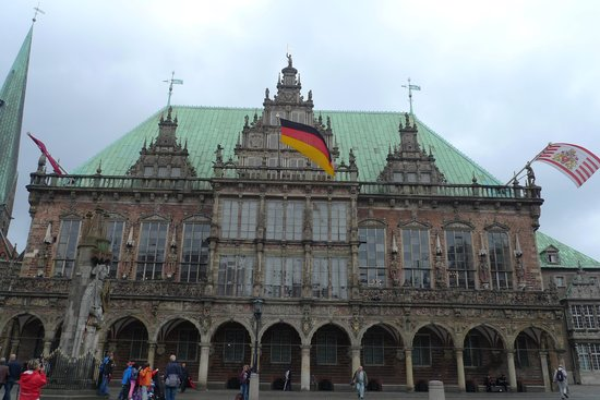 Hôtel de ville de Brême (Rathaus) : Ратуша