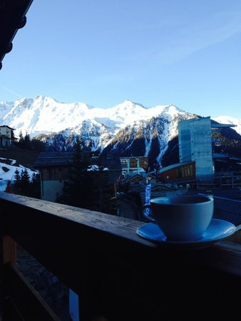 Club Med Peisey-Vallandry : View From Balcony