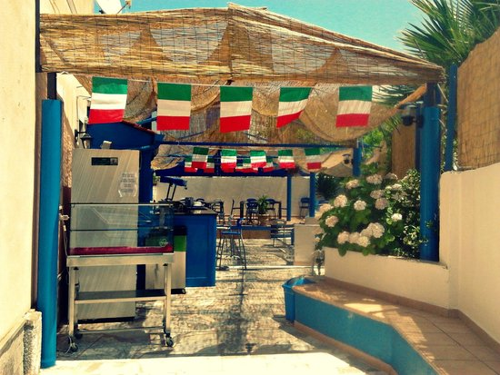 Ristobar Gelateria Gloria : Tifo per l'italia