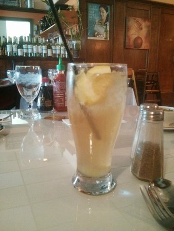 Golden Saigon: Refreshing home made Ginger Ale