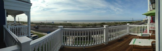 "931 Beach Guest House : A view from ""The Cove"" at 931 Beach Avenue in Cape May NJ. One of our most popular rooms."