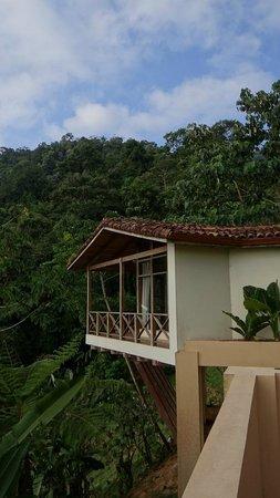Rio Magnolia Nature Lodge: View of El Cielo