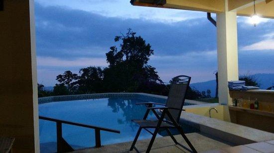Rio Magnolia Nature Lodge: Pool
