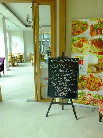 Hotel de Bangkok : Mini bistro