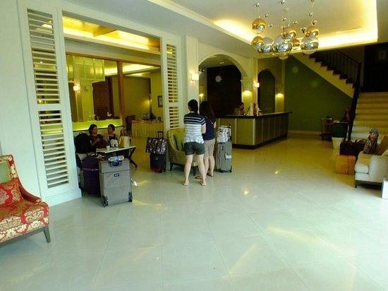 Hotel de Bangkok: Lobby area