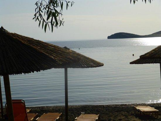 Lemnos Village Resort Hotel: Beautiful Beach in the Evening