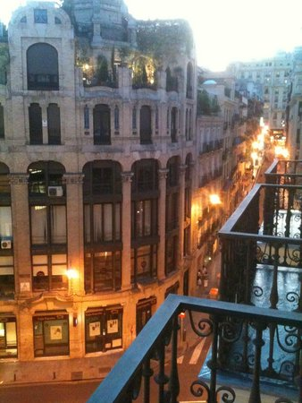 Iberostar Las Letras Gran Via : Balkon
