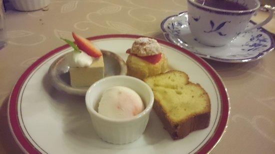 Auberge Mori No Kobito: Desserts