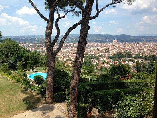 Torre Di Bellosguardo : View from bedroom of #6