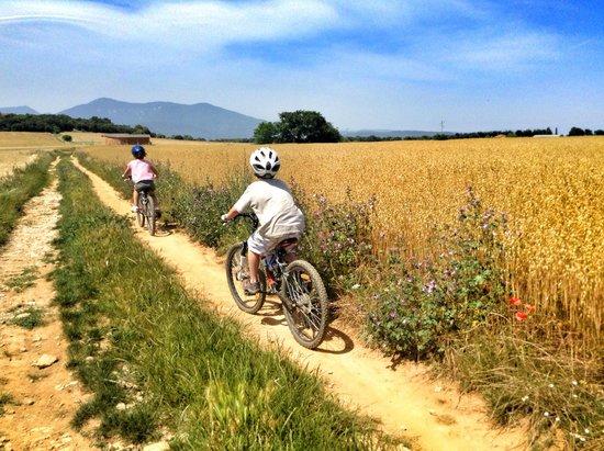 Family trail ride from Hotel Mas Pelegri