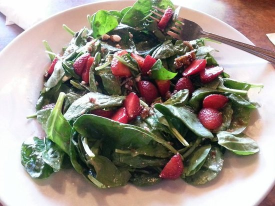 Battle Ground, WA: While Strawberries were in season this salad is available