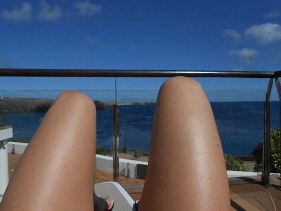 THe Mirador Papagayo: View whilst sunbathing!