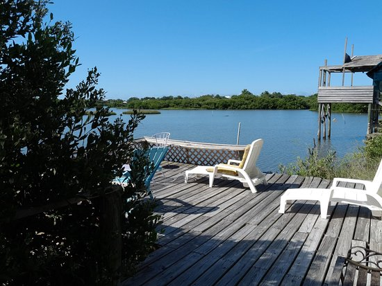 Mermaids Landing: Cottage 4 deck