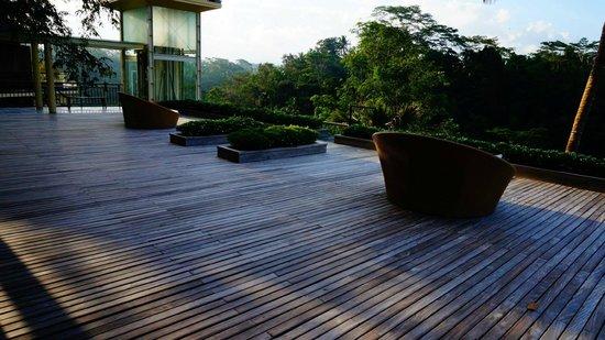 Komaneka at Tanggayuda: this is the terrace of my life :)