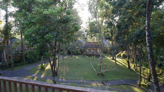 Komaneka at Tanggayuda: view from the lobby