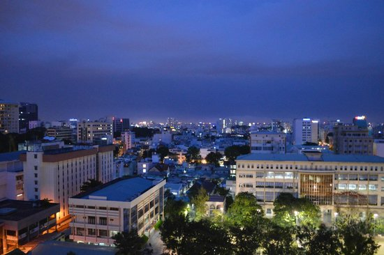 Sofitel Saigon Plaza: View from our room