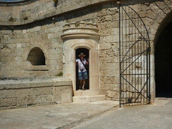 La Mola de Menorca: Sentry box