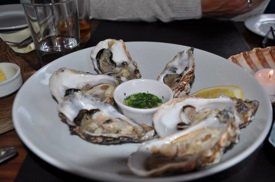 The Fish Kitchen : herrliche Austern