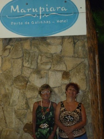 Prodigy Beach Resort Marupiara: portaria do hotel