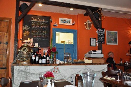 The Fish Kitchen : sehr charmantes Restaurant. sehr freundliche Bedienung!